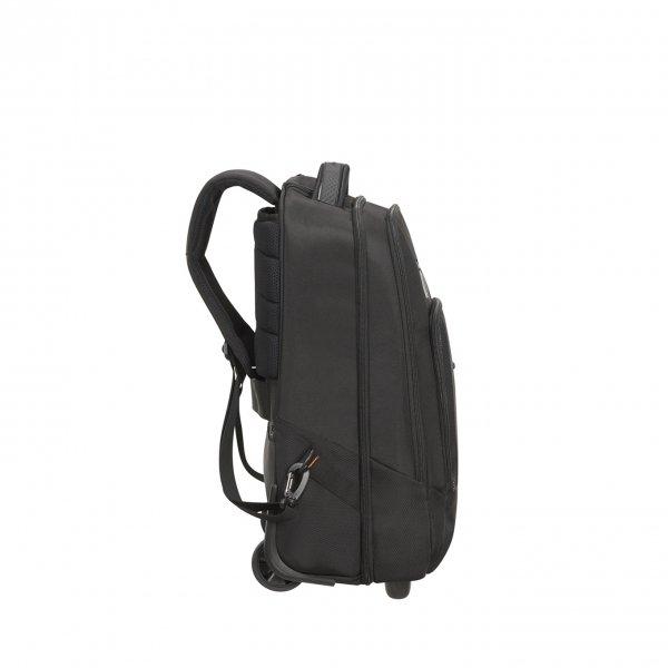 Samsonite Cityscape Evo Laptop Backpack / Wheels 15.6'' black Handbagage koffer Trolley van Polyester