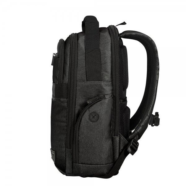 Samsonite Cityvibe 2.0 Laptop Backpack 14.1'' Exp jet black backpack van Nylon