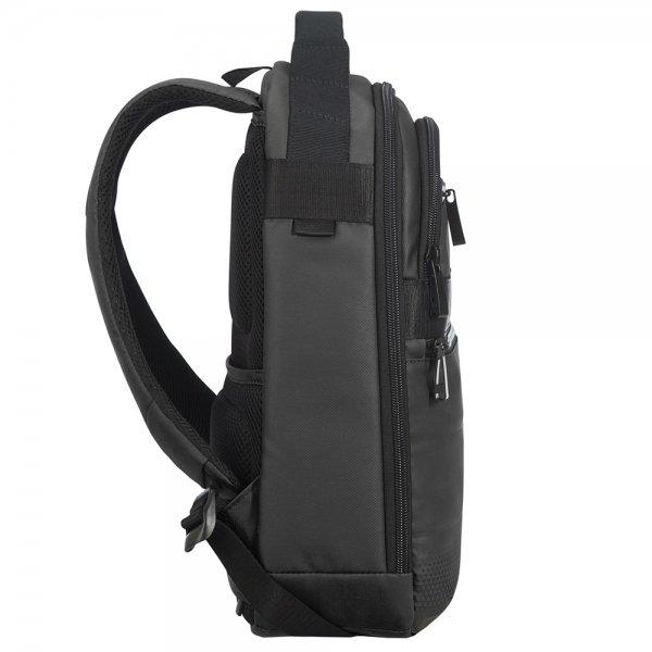 Samsonite Cityvibe 2.0 Small City Backpack jet black backpack van Nylon