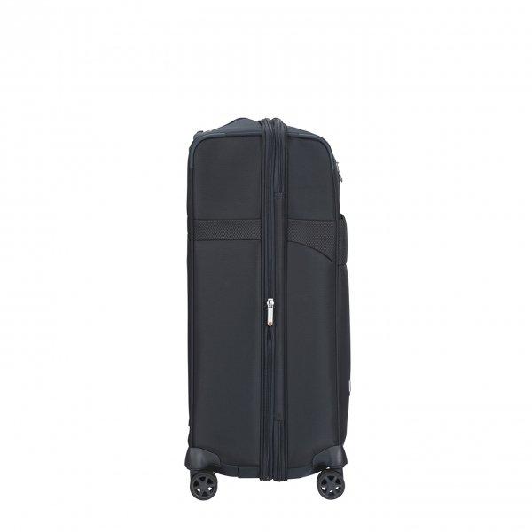 Samsonite Duopack Spinner 67 Exp 2 Frame blue Zachte koffer van Polyester