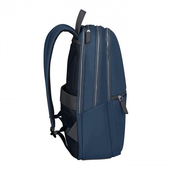 Samsonite Eco Wave Backpack 15.6'' midnight blue backpack van Polyester