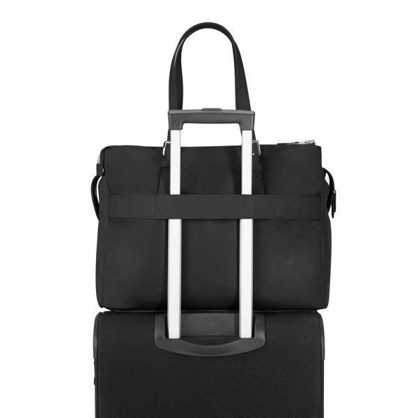 "Samsonite Karissa Biz Backpack 14.1"" dark navy backpack van Nylon"