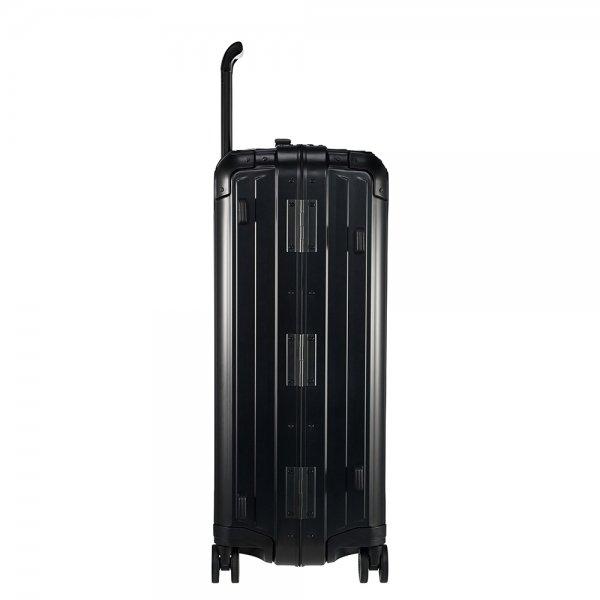 Samsonite Lite-Box Alu Spinner 69 black Harde Koffer van Aluminium