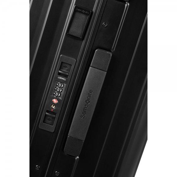 Samsonite Lite-Box Alu Spinner 76 black Harde Koffer
