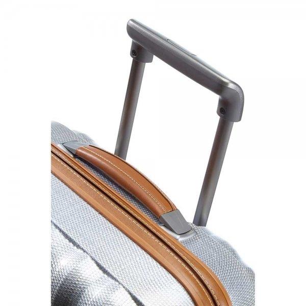 Samsonite Lite-Cube DLX Spinner 55 Width 23 cm aluminium Harde Koffer