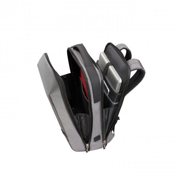 Samsonite Litepoint Laptop Backpack 15.6'' grey backpack van Polyester