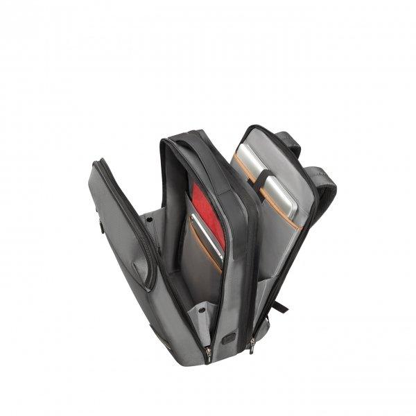 Samsonite Litepoint Laptop Backpack 17.3'' Exp grey backpack van Polyester
