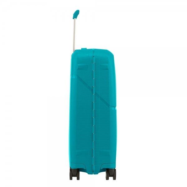 Samsonite Magnum Spinner 55 caribbean blue Harde Koffer van Polypropyleen