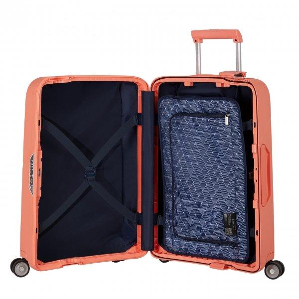 Samsonite Magnum Spinner 55 coral pink Harde Koffer