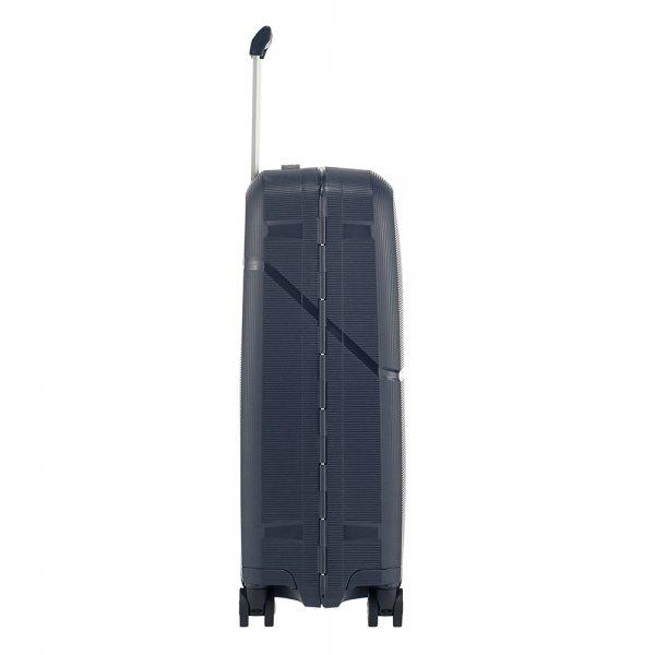 Samsonite Magnum Spinner 55 dark blue Harde Koffer van Polypropyleen