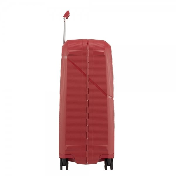 Samsonite Magnum Spinner 69 rust red Harde Koffer van Polypropyleen