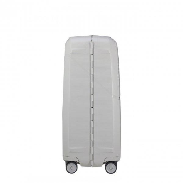 Samsonite Magnum Spinner 75 light grey Harde Koffer van Polypropyleen