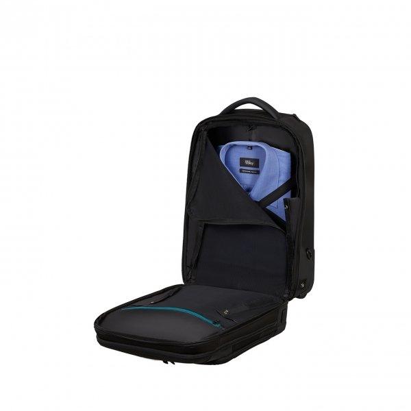 Samsonite Mysight Backpack Wheels 17.3'' black backpack van Gerecycled