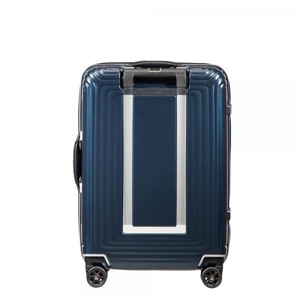 Samsonite Neopulse DLX Spinner 55 matte midnight blue Harde Koffer van Polycarbonaat