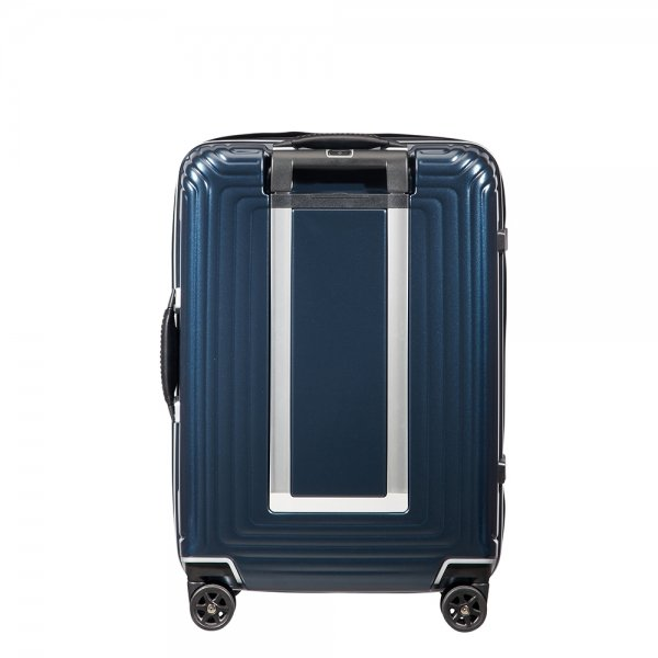 Samsonite Neopulse DLX Spinner 55 width 23cm matte midnight blue Harde Koffer