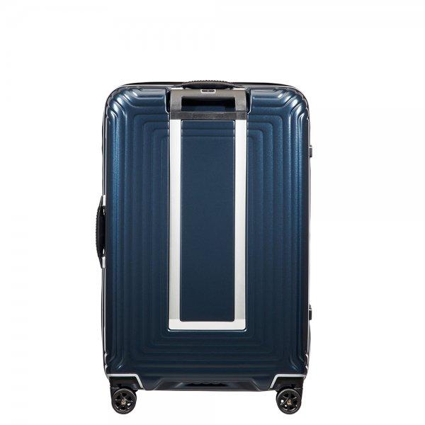Samsonite Neopulse DLX Spinner 69 matte midnight blue Harde Koffer van Polycarbonaat
