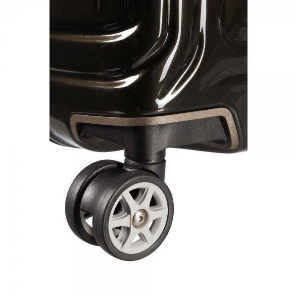 Samsonite Neopulse Spinner 55 metallic black Harde Koffer van Polycarbonaat