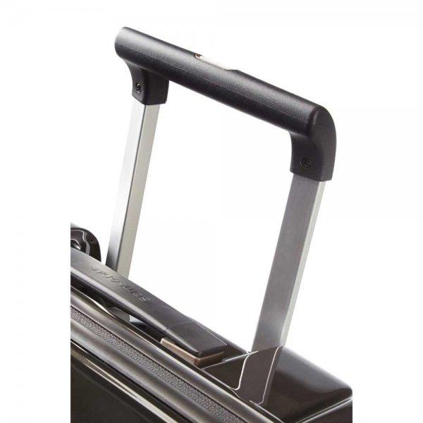 Samsonite Neopulse Spinner 55 metallic black Harde Koffer