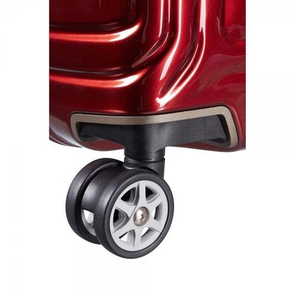 Samsonite Neopulse Spinner 55 metallic red Harde Koffer van Polycarbonaat