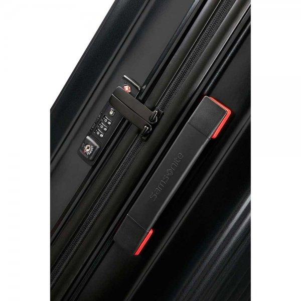 Samsonite Neopulse Spinner 69 matte black Harde Koffer van Polycarbonaat