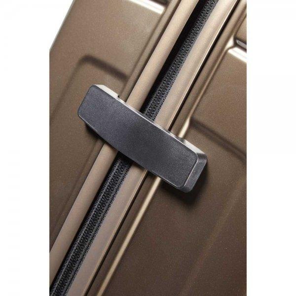 Samsonite Neopulse Spinner 69 metallic sand Harde Koffer