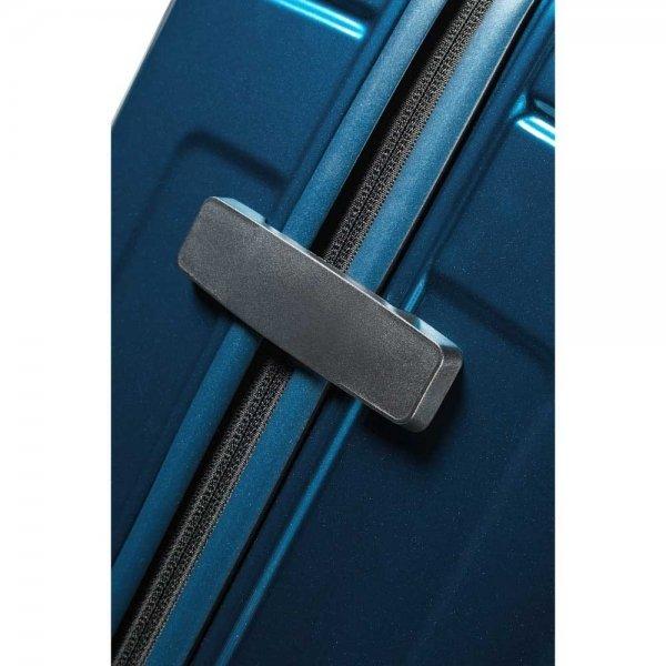 Samsonite Neopulse Spinner 75 metallic blue Harde Koffer