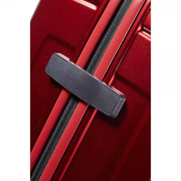 Samsonite Neopulse Spinner 81 metallic red Harde Koffer