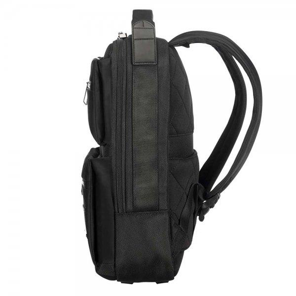 Samsonite Openroad Backpack Slim 13.3'' jet black backpack van Nylon