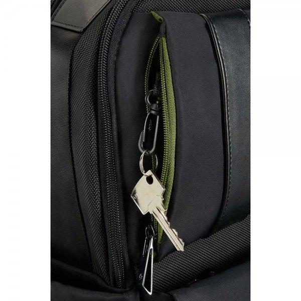 """Samsonite Openroad Weekender Backpack 17.3"""" jet black backpack van Nylon"""