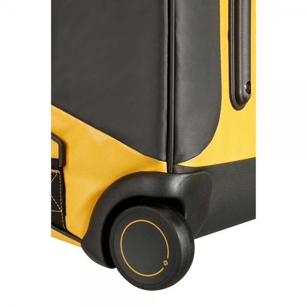 Samsonite Paradiver Light Duffle Wheels 67 yellow Trolley Reistas van Polyester