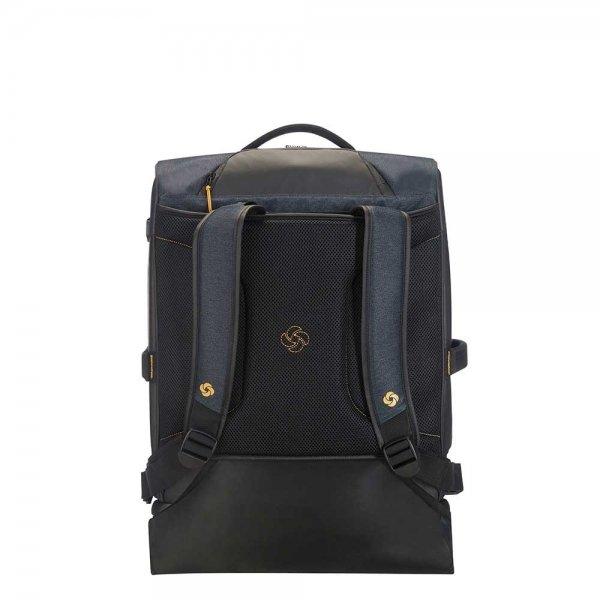 Samsonite Paradiver Light Duffle Wheels Backpack 55 jeans blue Handbagage koffer Trolley van Polyester