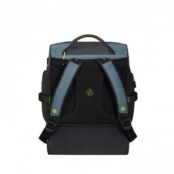 Samsonite Paradiver Light Duffle Wheels Backpack 55 trooper grey Handbagage koffer Trolley van Polyester