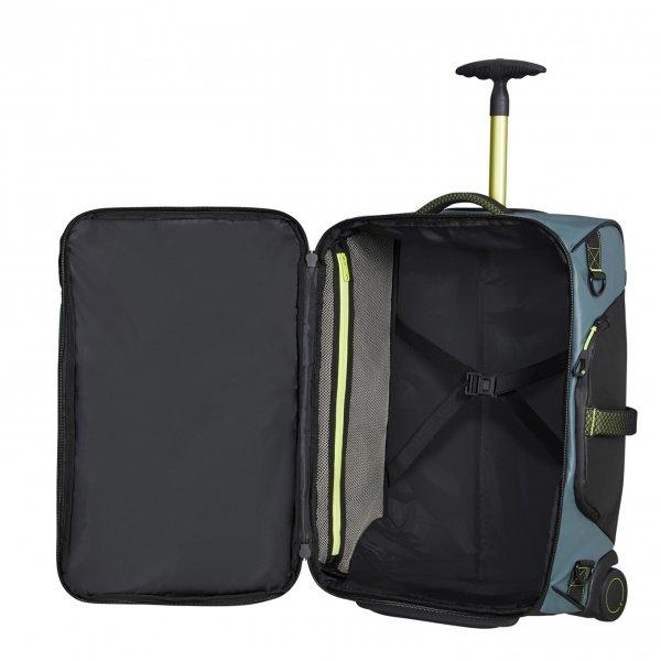 Samsonite Paradiver Light Duffle Wheels Backpack 55 trooper grey Handbagage koffer Trolley
