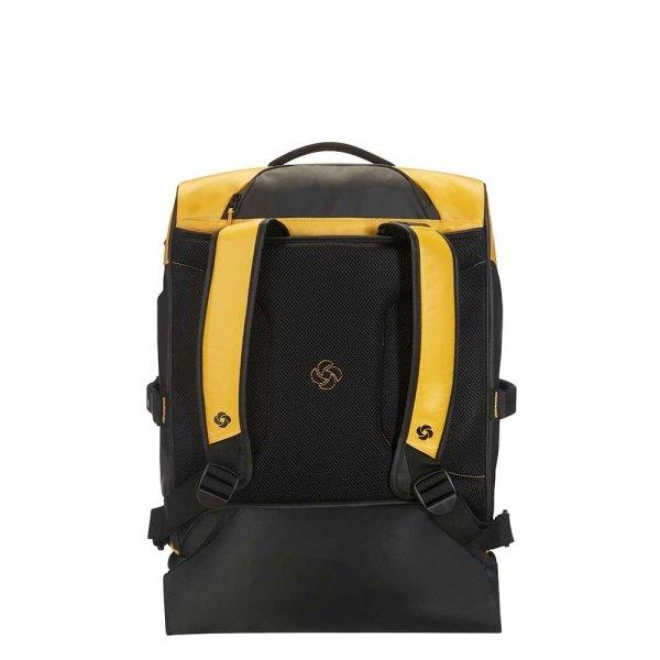 Samsonite Paradiver Light Duffle Wheels Backpack 55 yellow Handbagage koffer Trolley van Polyester