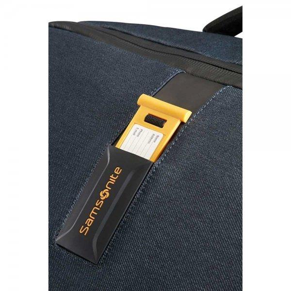 Samsonite Paradiver Light Duffle Wheels Strict Cabin 55 jeans blue Handbagage koffer Trolley van Polyester