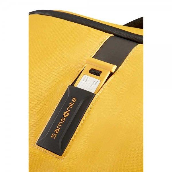 Samsonite Paradiver Light Duffle Wheels Strict Cabin 55 yellow Handbagage koffer Trolley van Polyester