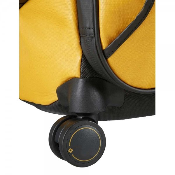 Samsonite Paradiver Light Spinner Duffle 67 yellow Trolley Reistas van Polyester