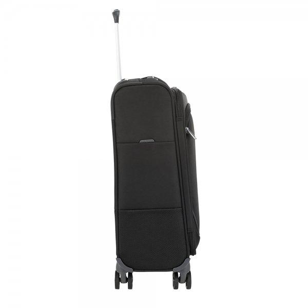 Samsonite Popsoda Spinner 55/35 black Zachte koffer
