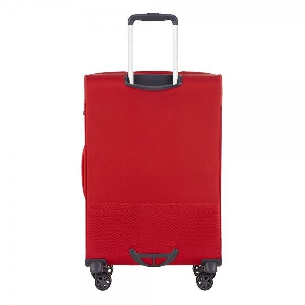 Samsonite Popsoda Spinner 78 Exp red Zachte koffer