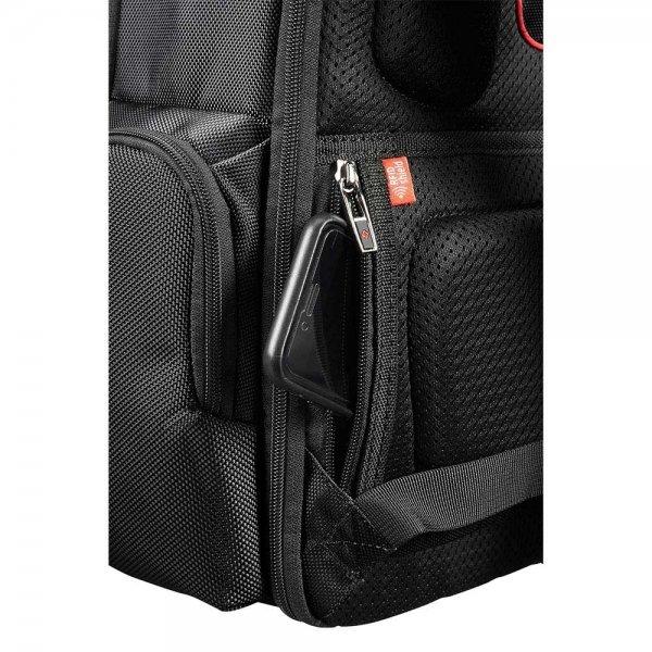 Samsonite Pro-DLX 5 Laptop Backpack 15.6'' Expandable black backpack van Nylon