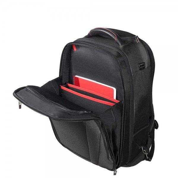 Samsonite Pro-DLX 5 Laptop Backpack Wheels 17.3'' black backpack van Nylon
