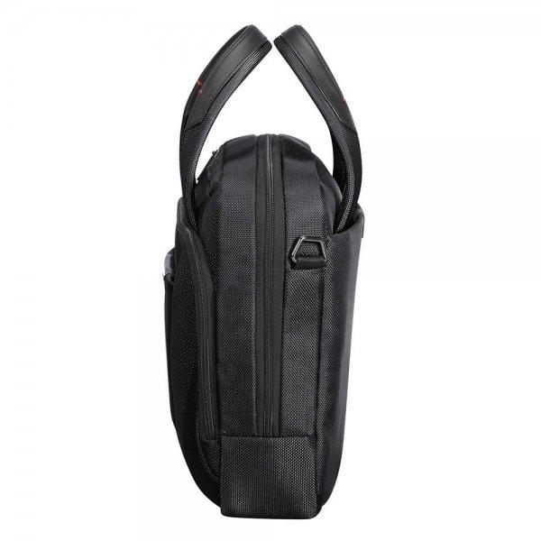 Samsonite Pro-DLX 5 Laptop Bailhandle 14.1'' black van Nylon