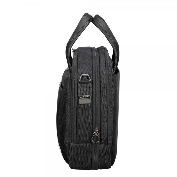 Samsonite Pro-DLX 5 Laptop Bailhandle 15.6'' Expandable black van Nylon