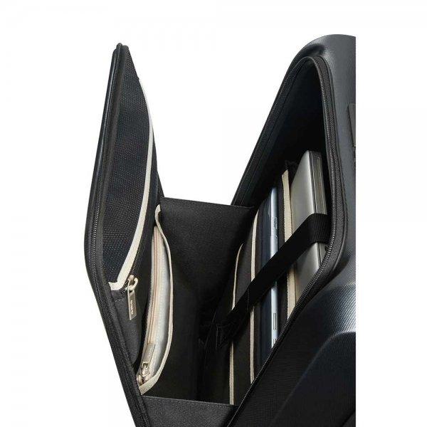 Samsonite Prodigy Spinner 55 exp black Harde Koffer