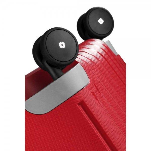 Samsonite S'Cure Spinner 55 crimson red Harde Koffer van Polypropyleen