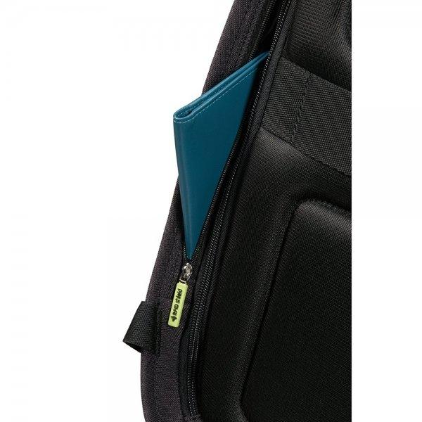 Samsonite Securipak Laptop Backpack 15.6'' black steel backpack
