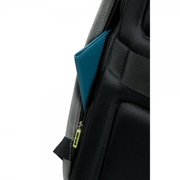 Samsonite Securipak Laptop Backpack 15.6'' cool grey backpack