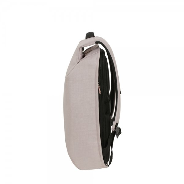 Samsonite Securipak S Laptop Backpack 14.1'' stone grey backpack van Polyester