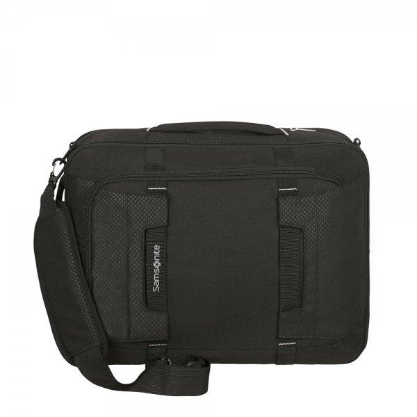 Samsonite Sonora 3-Way Shoulder Bag Exp black backpack van Polyester
