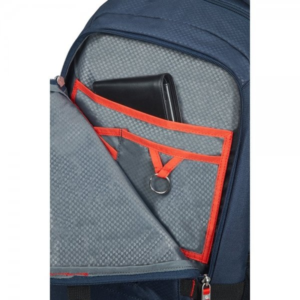 Samsonite Sonora Laptop Backpack L Exp night blue backpack van Polyester